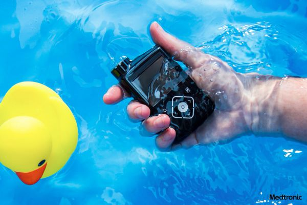 Khả năng chịu nước của máy bơm insulin Medtronic 630G