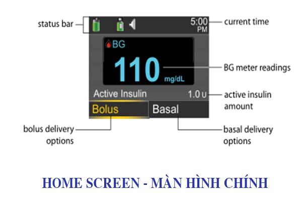 Màn hình chính - Home Screen