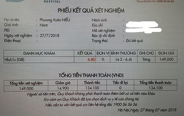 Thông số HbA1c sau khi sử dụng máy bơm insulin tự động (update 03/02/2019)