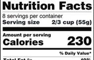 Người bệnh tiểu đường cần phải biết cách đọc nhãn thực phẩm đóng gói sẵn (Nutrition Facts)